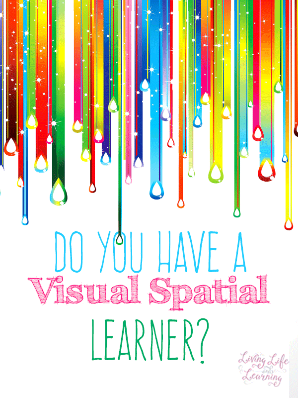 Do you have a visual spatial learner, how can you tell?