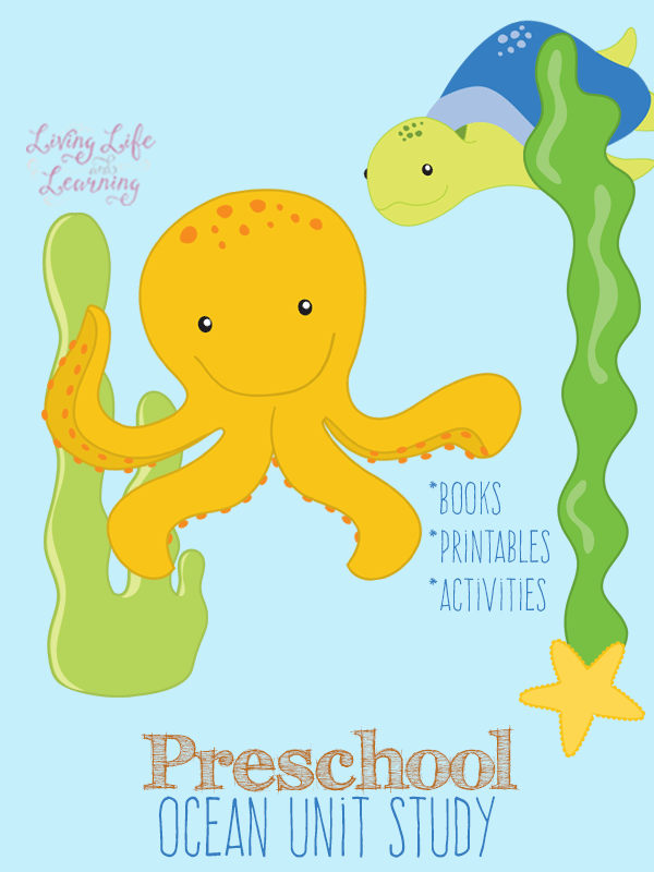 Books, activities and printables to put together your ow preschool ocean unit study