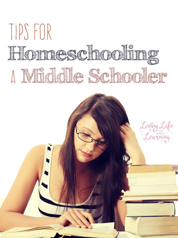 Get ideas and tips for homeschooling a middle schooler