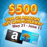 blogger opp $500 visa or amazon giveaway