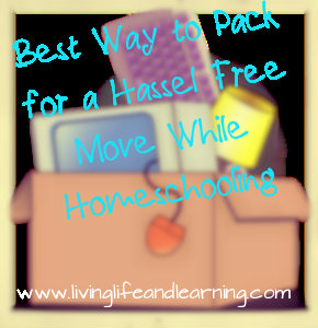 best way to pack for a hassel free move while homeschooling. Black Bedroom Furniture Sets. Home Design Ideas
