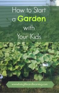 How to Start a Garden with Your Kids