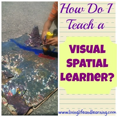 how do I teach a visual spatial learner