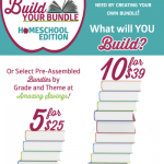 Build Your Own Bundle and Choose Which #Homeschool Products You Want {July 21-28 only}