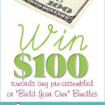 Enter to win $100 towards the purchase during the Build Your Bundle Homeschool Sale