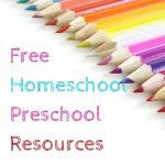 Free Homeschool Preschool Resources