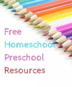 Free Homeschool Preschool Resources
