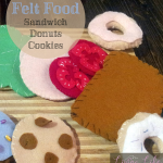 Make some awesome felt food for some great pretend play with your little ones.