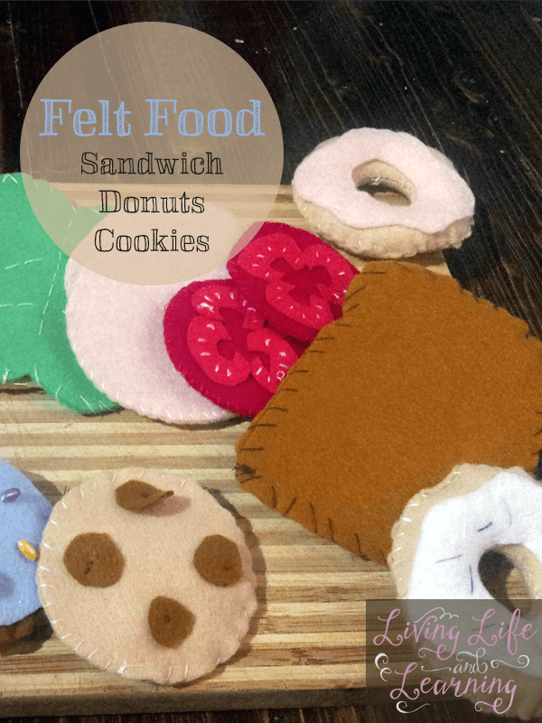 Felt Food – Sandwich, Cookies and Donuts