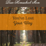 Get yourself back onto the right path in your homeschool