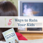 Screen free time is so important to keeping your child on track