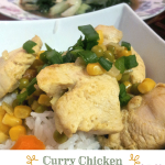 A wonderful spin to a tasty chicken curry recipe