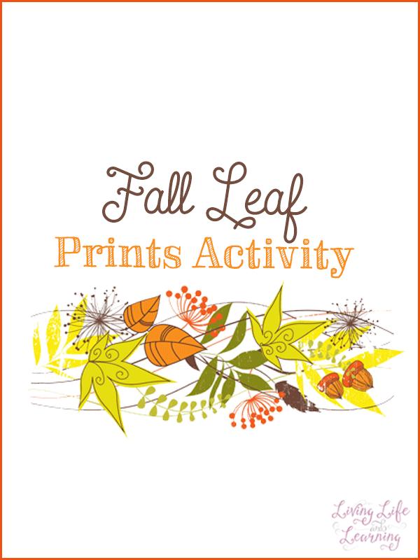 Fall Leaf Prints Craft #RKFunShapes