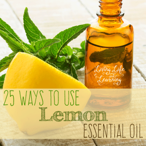 Best way to use lemon essential oil