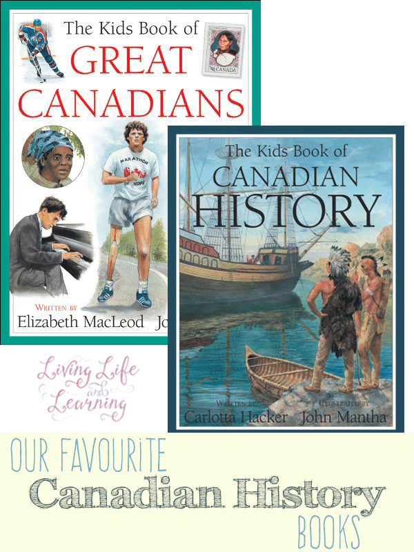 Our favourite Canadian history books