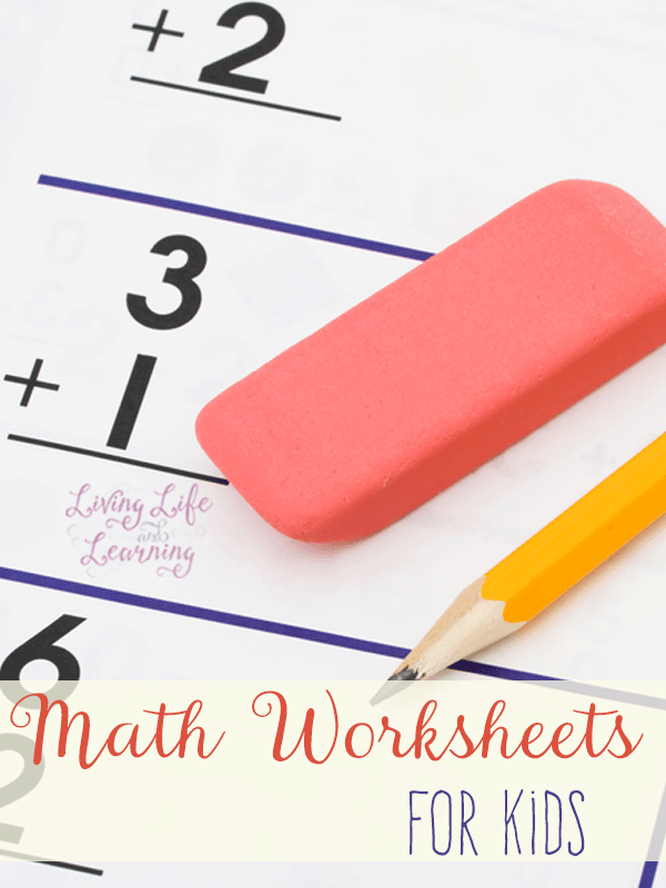 Math Worksheets for Kids – Math Worksheets for Toddlers