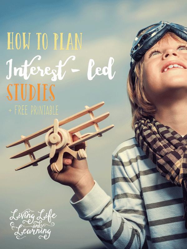 How to Plan Interest Led Studies