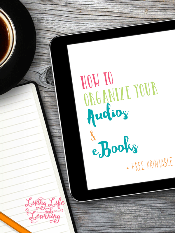 How to Organize Your Audios and eBooks