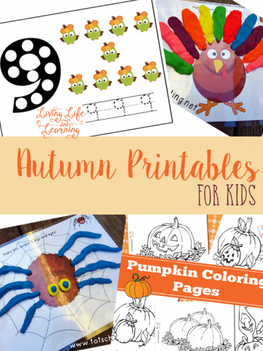 Get into the Autumn spirit with these fun printables for kids