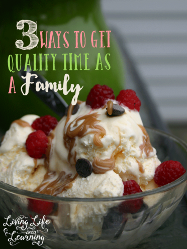 3 Ways to Get Quality Time Together as a family #SundaeFundae