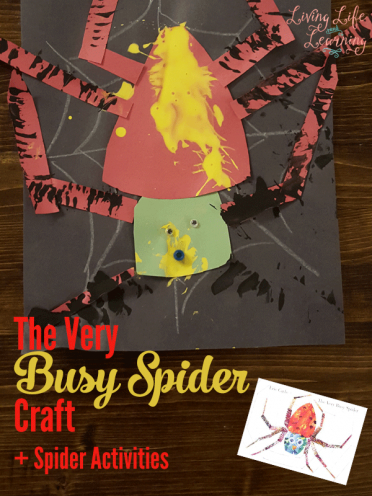 The Very Busy Spider Craft and More Spider Activities