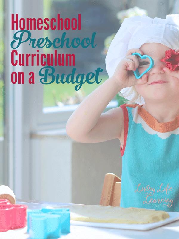 Homeschool Preschool Curriculum on a Budget