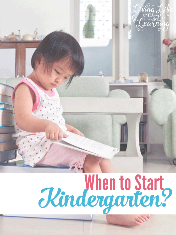 When is the best time to start homeschooling kindergarten?