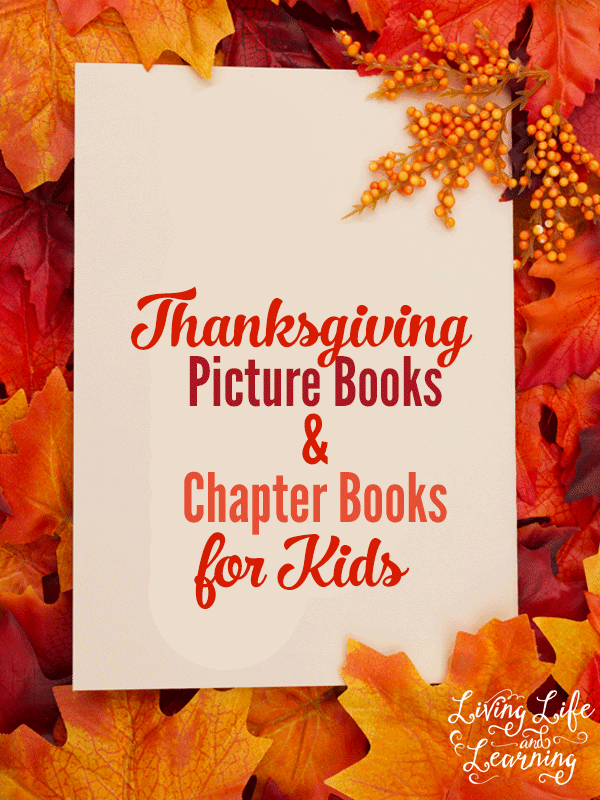 In need of some new books about Thanksgiving? You have to read some of these Thanksgiving picture books and chapter books for kids this year