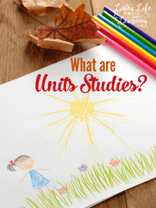 What to encompass one topic into all of your subjects, create your own unit studies and really learn a new topic