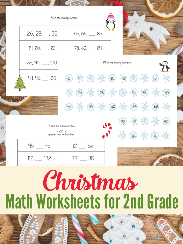 math worksheet : christmas math worksheets for 2nd grade : Holiday Math Worksheets