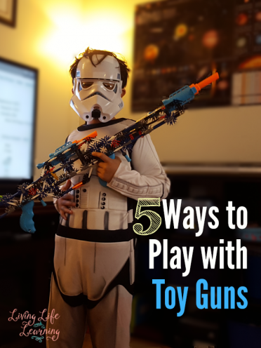 5 Ways to Play with Toy Guns + Giveaway