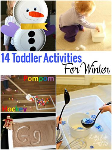 Toddler Activities for Winter