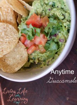 Anytime Guacamole Recipe