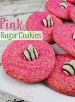Pink Sugar Cookies Recipe