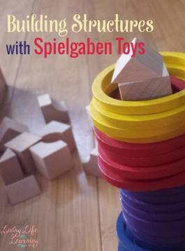 Build Structures with Spielgaben Toys