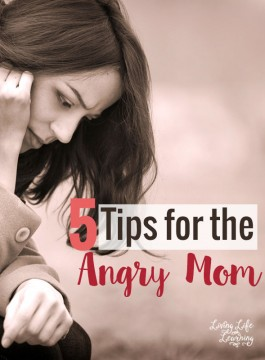 5 Tips for the Angry Mom