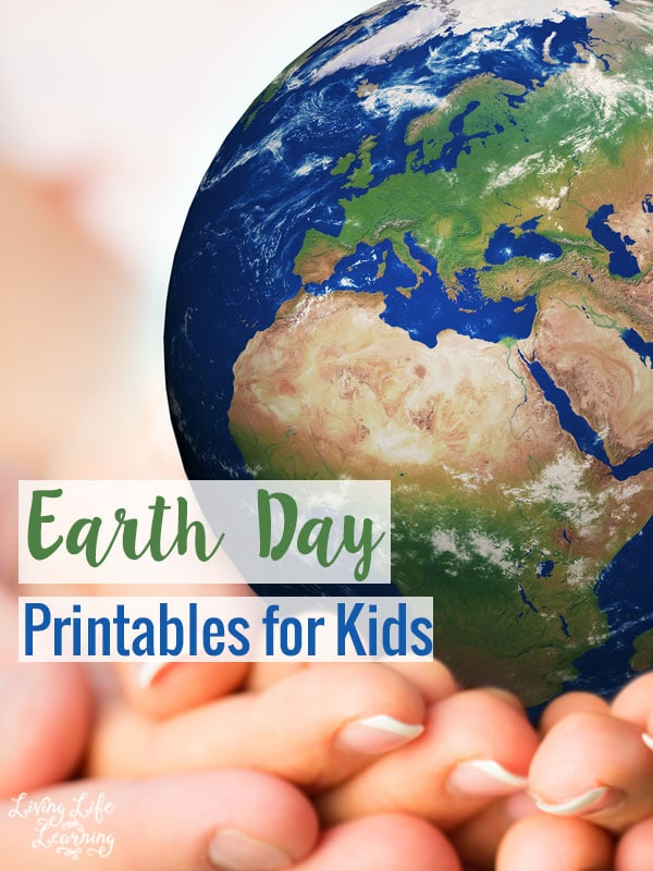 Learn how we can all help the earth with these Earth day printables for kids