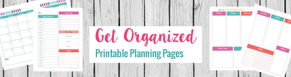 planning printables 1100