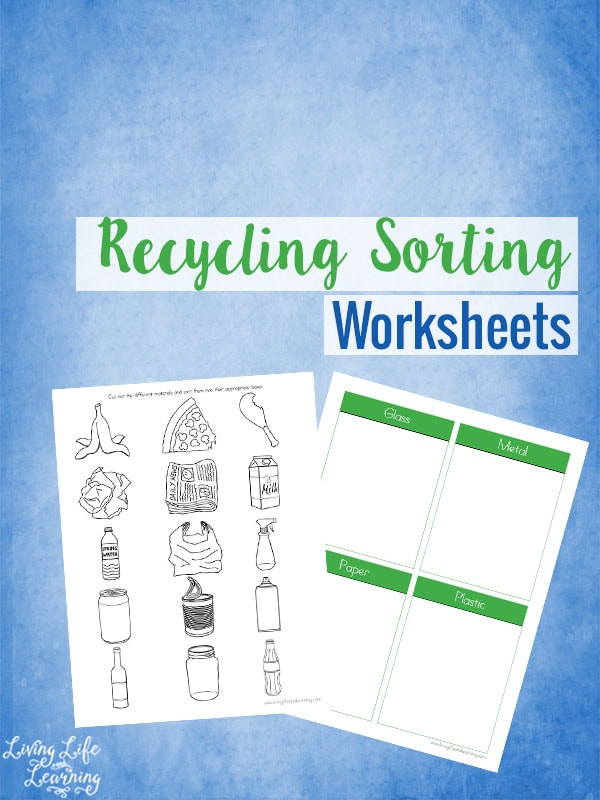 math worksheet : sort your recycling worksheets : Recycling Worksheets For Kindergarten