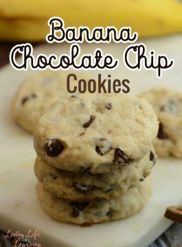 Banana Chocolate Chip Cookies Recipe