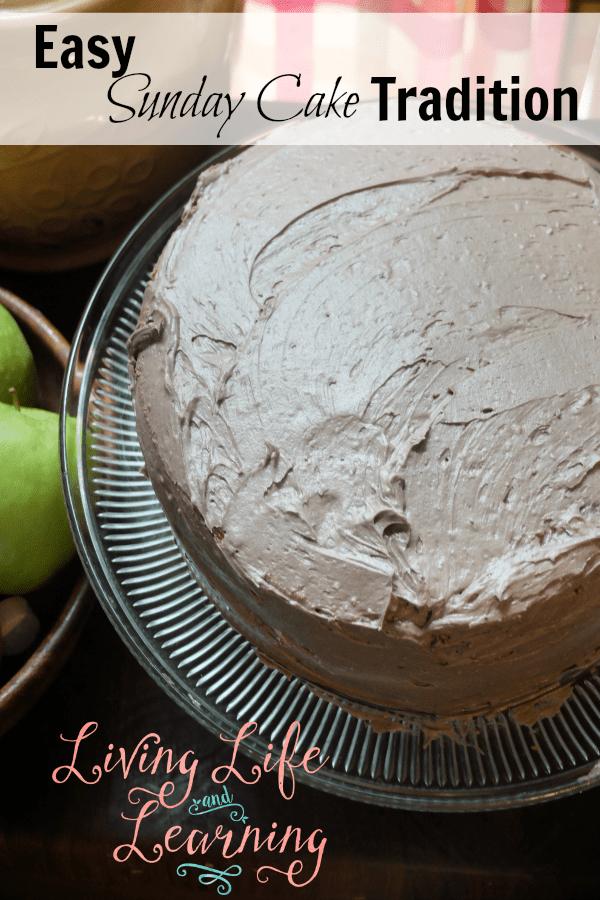 Easy Sunday Cake Tradition