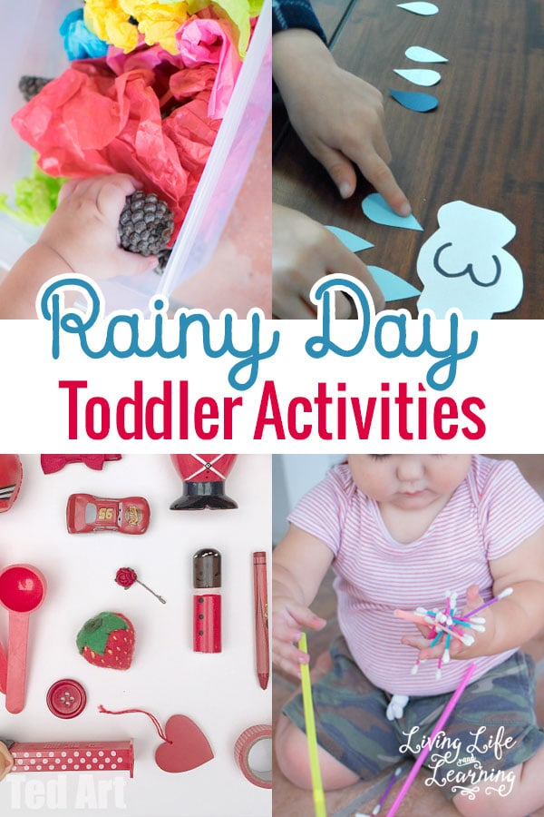 Rainy Day Toddler Activities