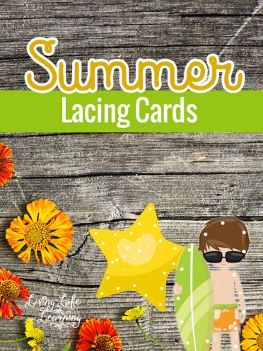 Summer Lacing Cards