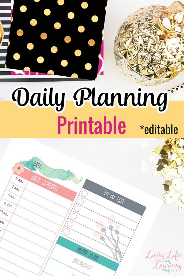 Daily Planning Printables