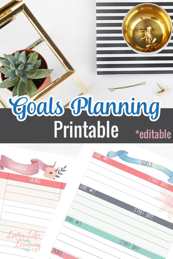 Get more done in your day by creating goals for yourself and write them down with these goal setting worksheets so you can work towards them and feel a sense of accomplishment once you complete them.