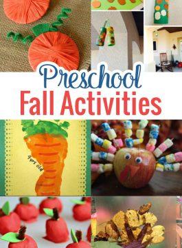 Preschool Fall Activities