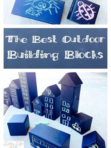 The Best Outdoor Building Blocks – A Chalk Adventure