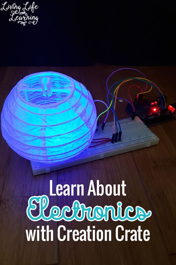 Science lovers with love to Learn About Electronics with Creation Crate - get a monthly subscription box to your door, what a great surprise