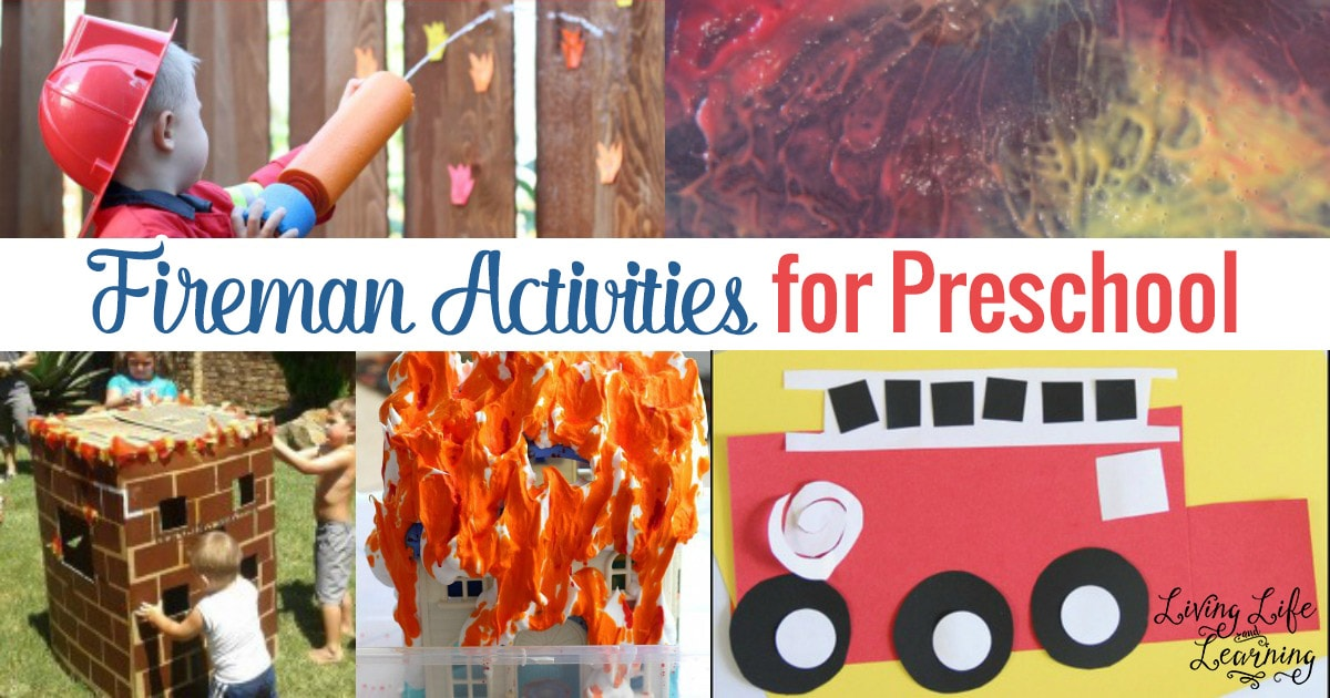 Kids Firefighter Activities