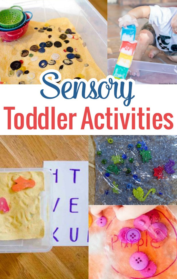Sensory Toddler Activities